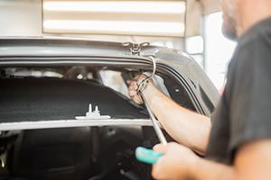 paintless dent repair professional